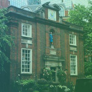 Blog - New London Neighbourhood Tour - Blewcoat School