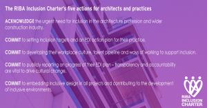 RIBA Inclusion Charter list